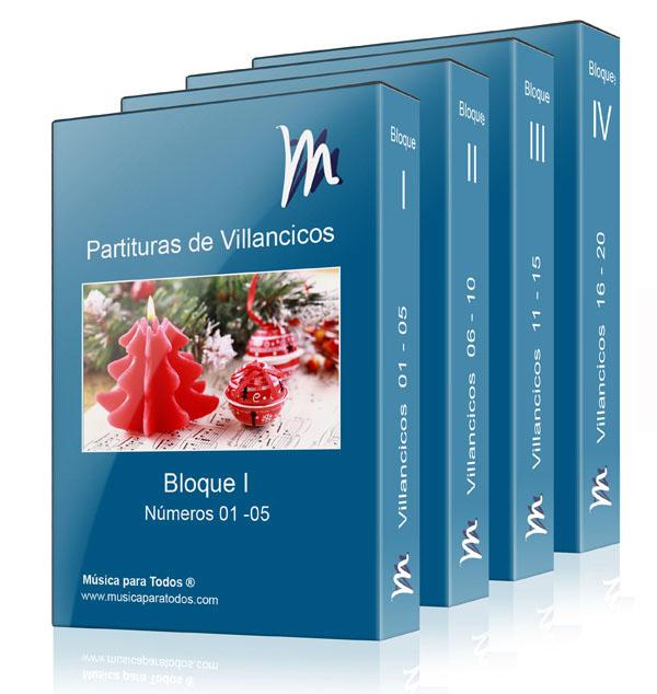Partituras Navideñas - Coleccion de 20 Villancicos Tradicionales y Populares para Orquestas y Bandas de Músicatítulos de gratis para descargar