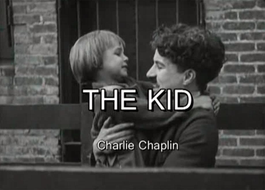 """ The Kid "" (El Chico) – Charles Chaplin"