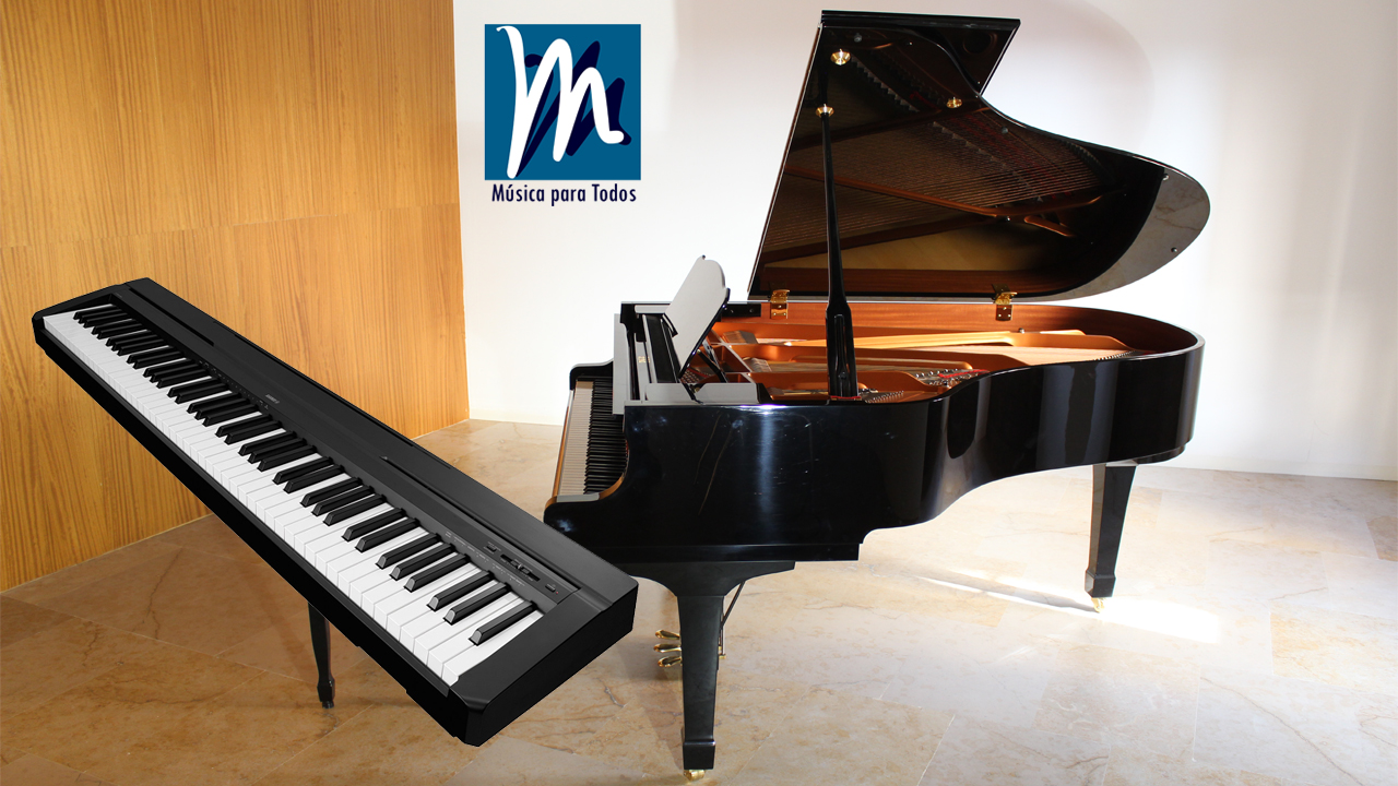 Aprende piano a tu ritmo sin salir de casa