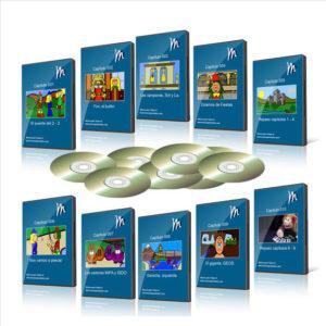 Las notas del Piano – 10 DVDs
