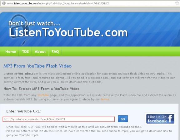 Cómo descargar musica gratis de Youtube, Goear y Grooveshark