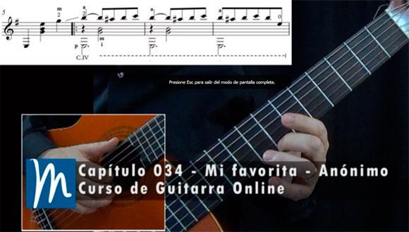 Mi favorita Mazurka para Guitarra Clásica