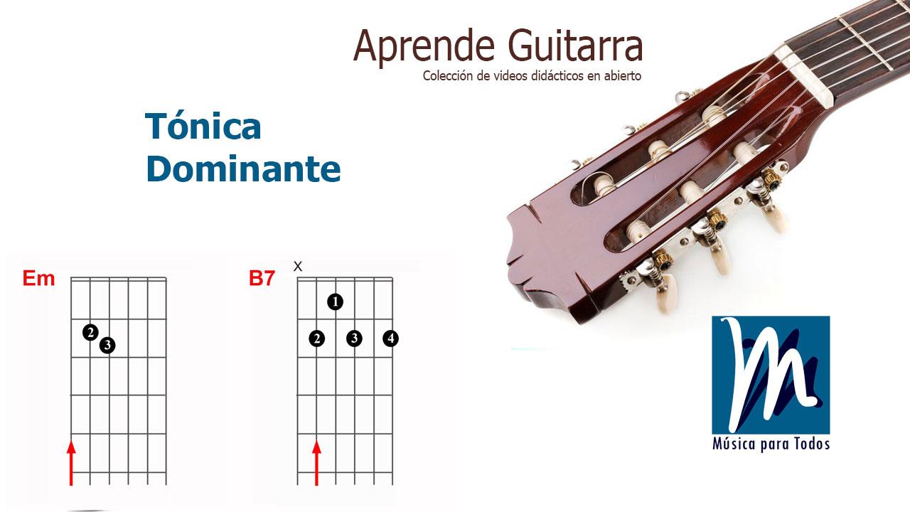Tónica Dominante, Centro Tonal – Aprende Guitarra 04