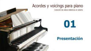 Acordes y Voicings para piano